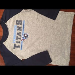 Youth Tennessee Titans NFL 3/4 sleeve shirt